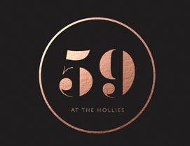 59 at The Hollies, Restaurant