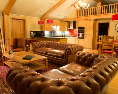 The Spruce Luxury Forest Lodge The Hollies Farm Shop