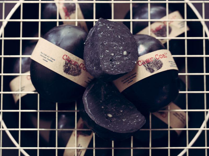 Char Coal Cheese The Hollies Farm Shop