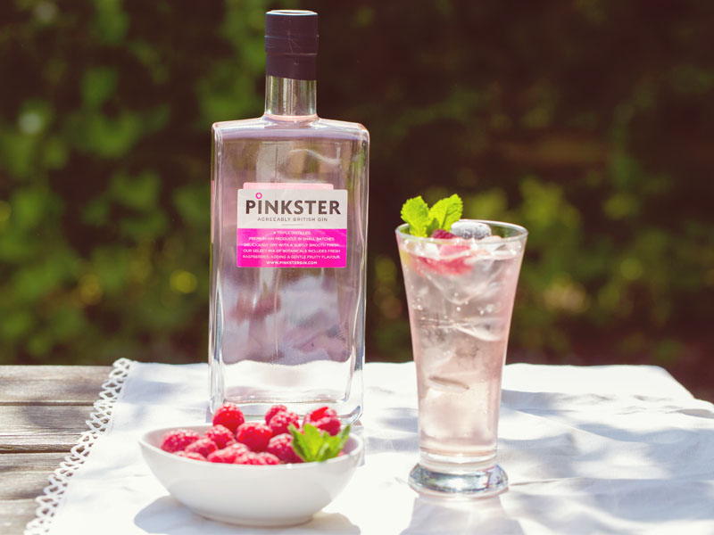 Pinkster Gin Our Gin Of The Month The Hollies Farm Shop