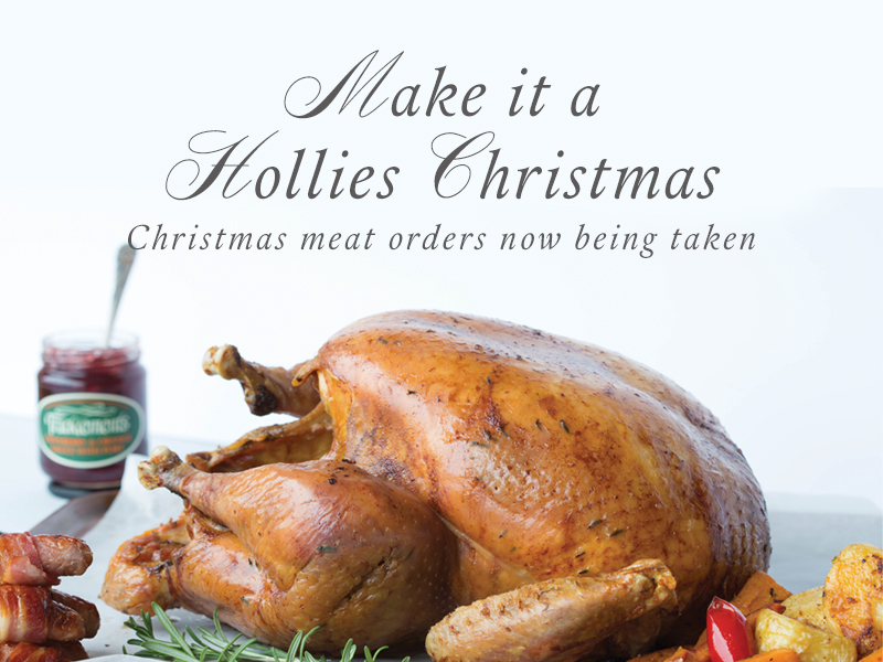 Christmas Meat.Christmas Meat Orders 2016 The Hollies Farm Shop