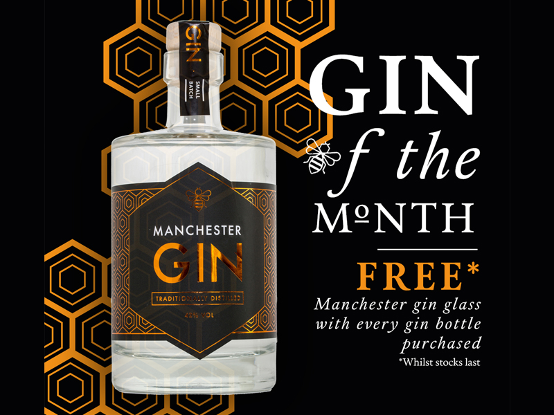July 2017 Gin Of The Month Manchester Gin The Hollies
